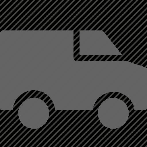 car, delivery, truck, van icon