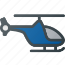 chopper, helicopter, transport, transportation, vehicles icon