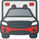 ambulance, emergency, transport, transportation, vehicles icon