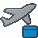 booking, flight, plane, transport, transportation, vehicles icon