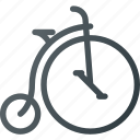 bicycle, bike, retro, transport, transportation, vehicles, vintage icon