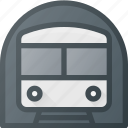 metro, subway, transport, transportation, vehicles icon
