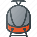 railroad, railway, train, transport, transportation, vehicles icon