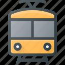 railroad, railway, train, tram, transport, transportation, vehicles