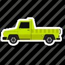 pickup truck, pickup, truck