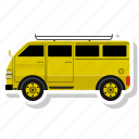 bus, school, transport, van, vehicle