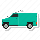transportation, delivery van, van, vehicle