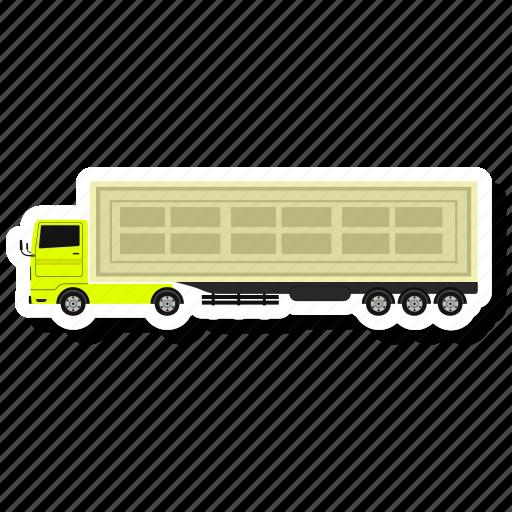 pickup, pickup truck, truck icon