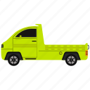 transportation, truck, vehicle icon