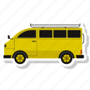 bus, school bus, school van, transport, vehicle icon