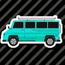 bus, school van, school bus, transport, vehicle