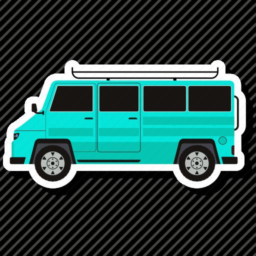 bus, school bus, school van, transport, vehicle icon
