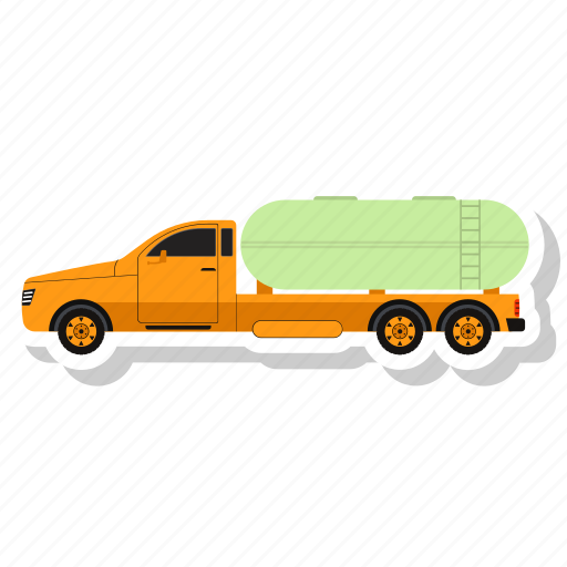 fuel, gasoline, oil, truck icon