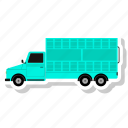 delivery, e-commerce, truck icon