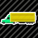 construction, dump, truck, vehivele