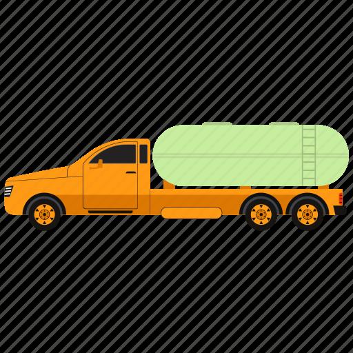 drive, oil truck, transportation, van, vehicle icon