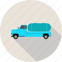 fuel, gasoline, oil, truck icon