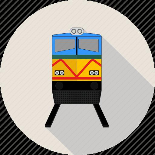 railway, subway, train, transport icon