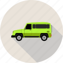 delivery van, transportation, van, vehicle icon