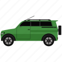 bus, car, transportation, van, vehicle icon