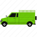 delivery, transport, transportation, van icon