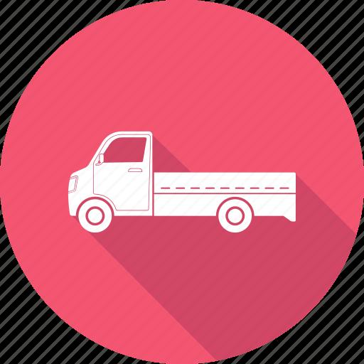 truck, vehicle icon