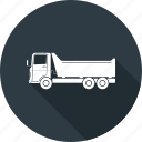 transport, transportation, travel, truck icon