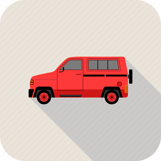 car, part, trainsport, van, vehicle icon