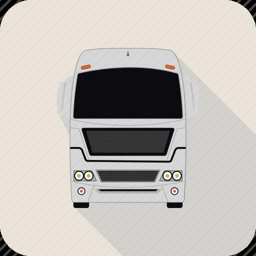 bus, transport, trolley, trolleybus icon