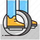 monowheel, wheel icon