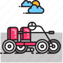 car, quadracycle, vehicle icon