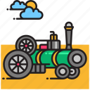 engine, motor, traction, vehicle icon