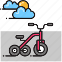 bike, cycle, tricycle icon