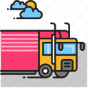 freight, lorry, truck icon
