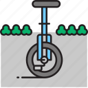 bike, cycle, unicycle icon