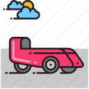 car, velomobile icon