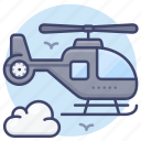 helicopter, copter, emergency, transport