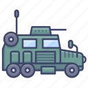 military, vehicle, combat, army icon
