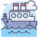 sailfish, ship, boat, tanker icon