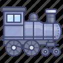 steam, train, railway, locomotive icon