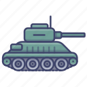 tank, military, army, cannon icon