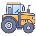 tractor, farming, agriculture, vehicle