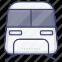train, railway, rail, transportation icon