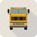 autobus, bus, coach, transport, truck, vehicle