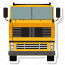 coach, bus, truck, vehicle, autobus, transport