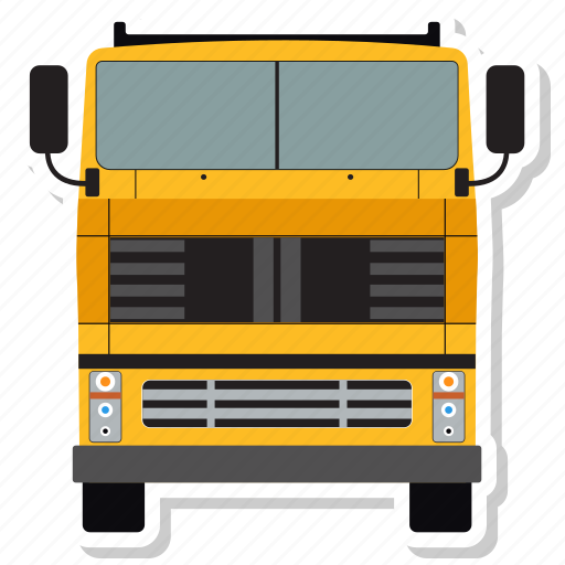 autobus, bus, coach, transport, truck, vehicle icon