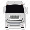 bus, transport, vehicle