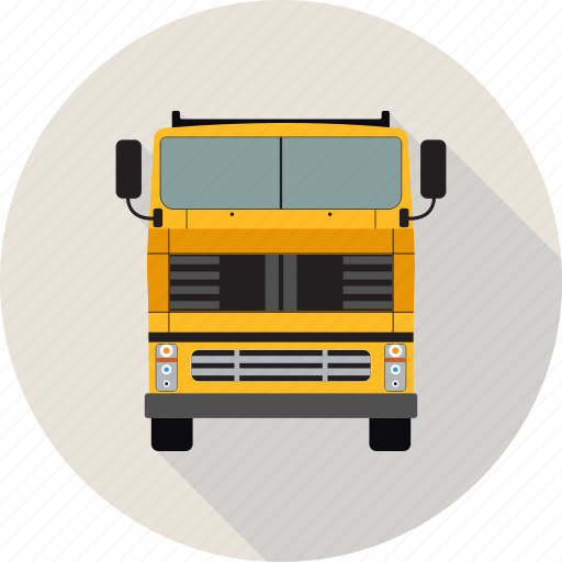 autobus, bus, coach, transport, truck, vehicle icon