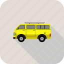 bus, school, van, transport, vehicle