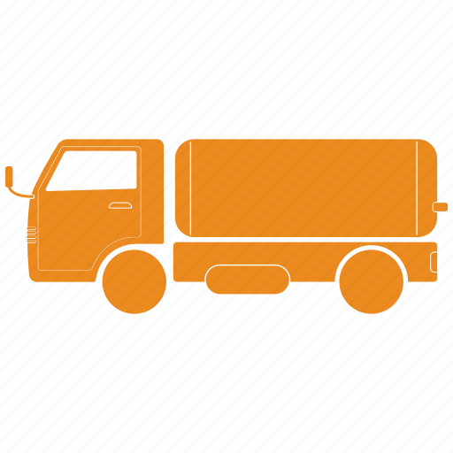 Delivery, gas, oil, shipping, truck icon - Download on Iconfinder